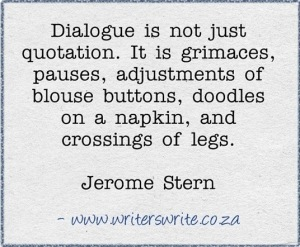 Dialogue quote