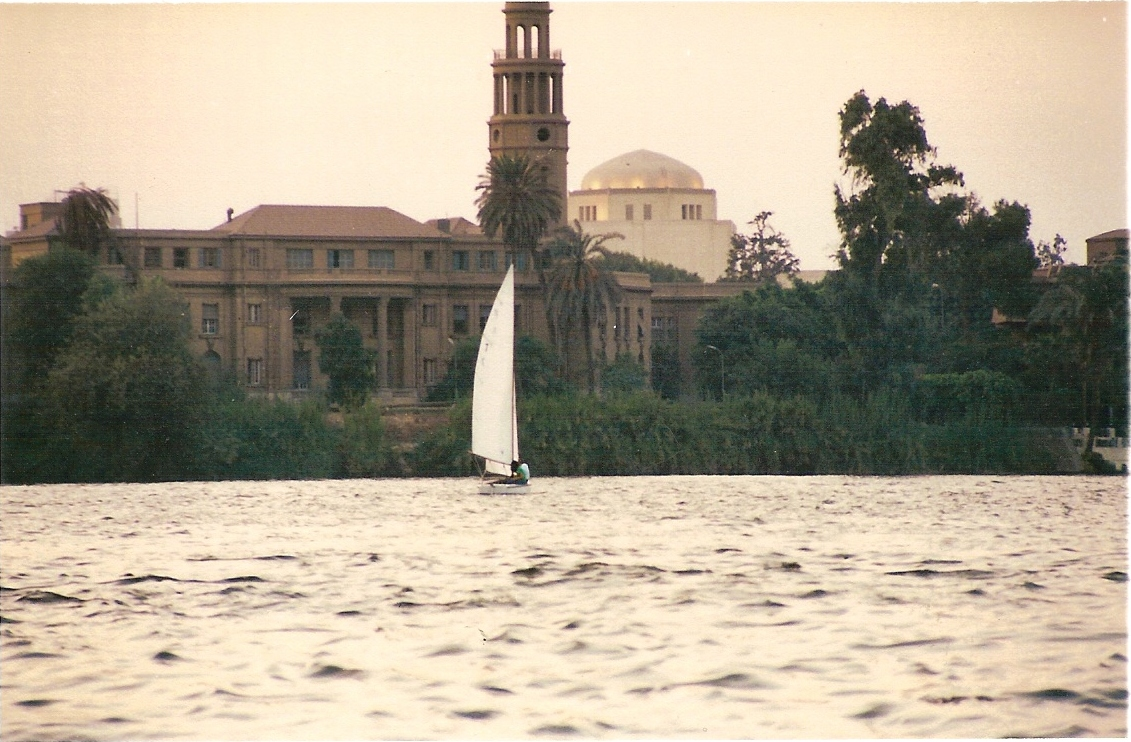 Nile River in the evening